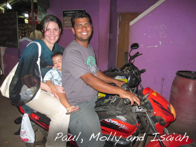 Paul, Molly and Isaiah
