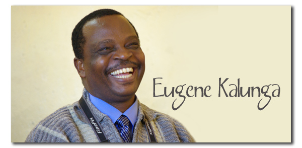 Eugene Kalunga laughing