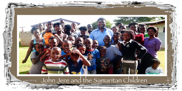 John Jere with the Samaritan Children