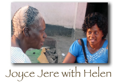 Joyce Jere and Helen