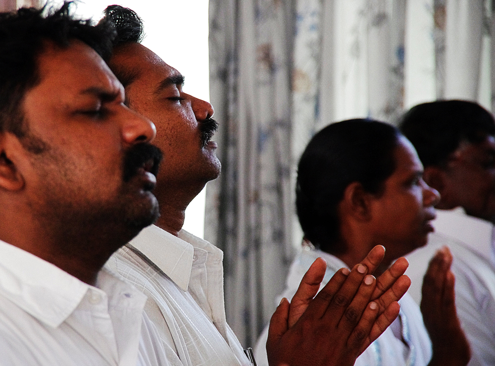 pastor training, India, prayer