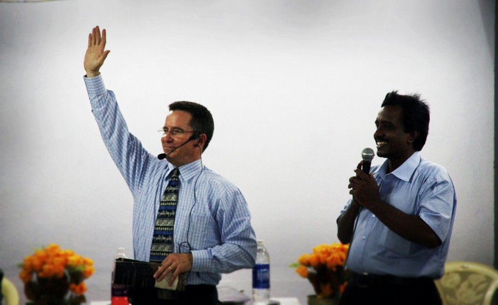 Steve Evers, pastor training, India