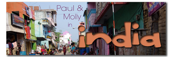 Paul and Molly in India Banner
