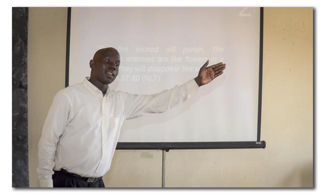 Justin Teaching