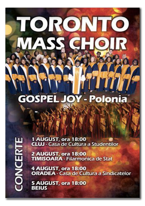 toronto mass choir flyer