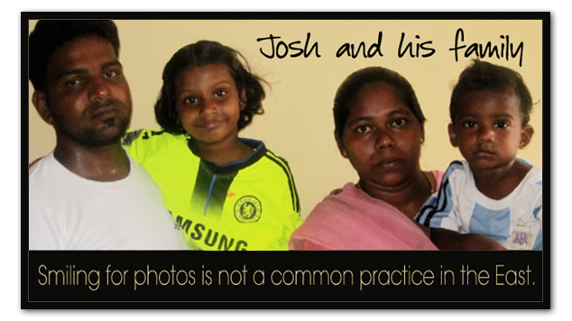 Josh and his family