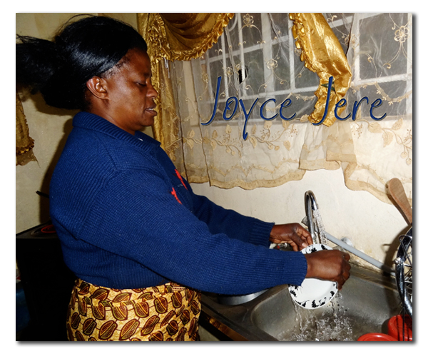 Joyce Jere can run her household with running water again