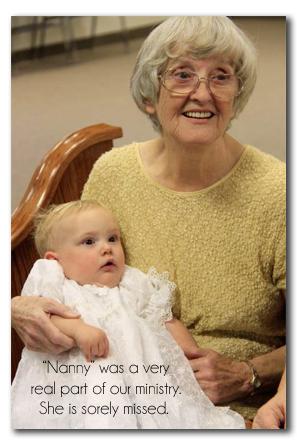 Nanny with Olivia