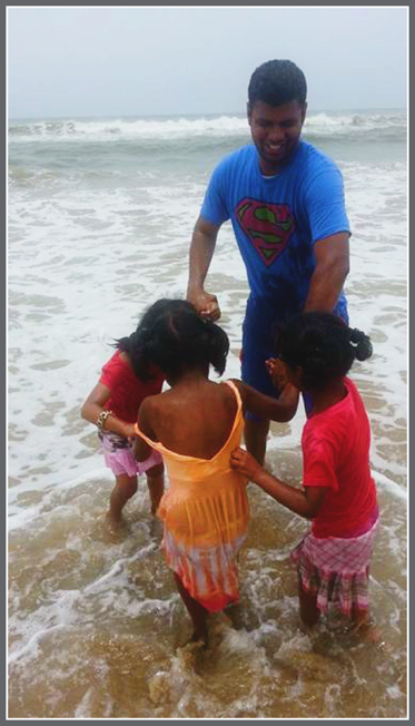 Paul in the Sea