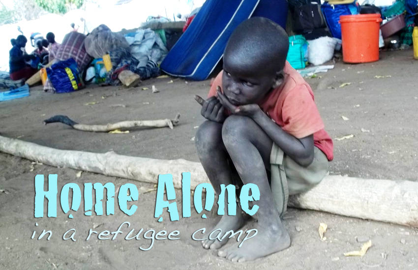 Home Alone in a Refugee Camp