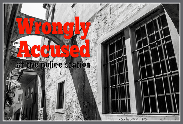 Wrongly Accused at the Police Station