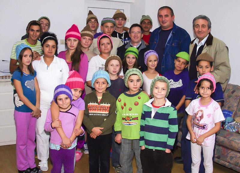 Casa Dorca, Romania, Orphans