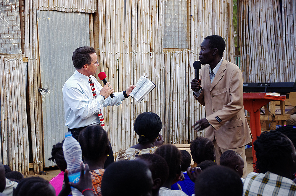 Steve Evers, South Sudan, Church Plant