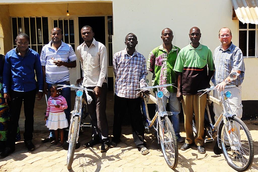 Charl van Wyk, Bicycles, Pastors, Africa
