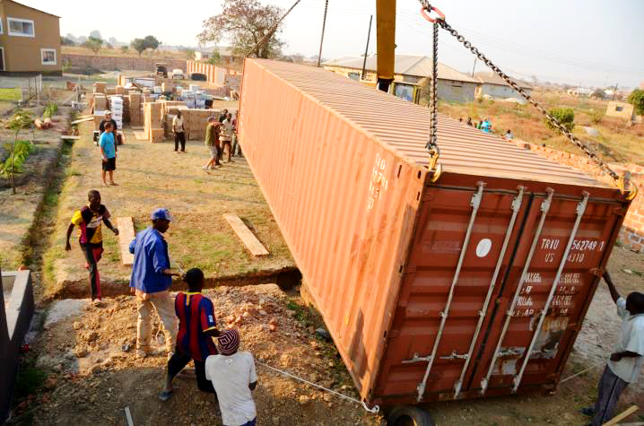 Keller, Container, Zambia