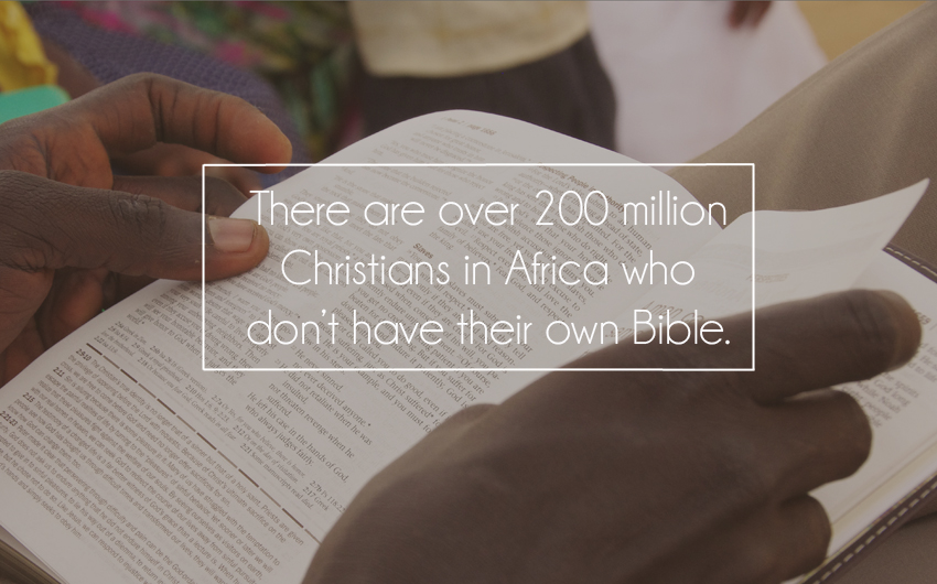 Bible, Africa, Container Project, Keller
