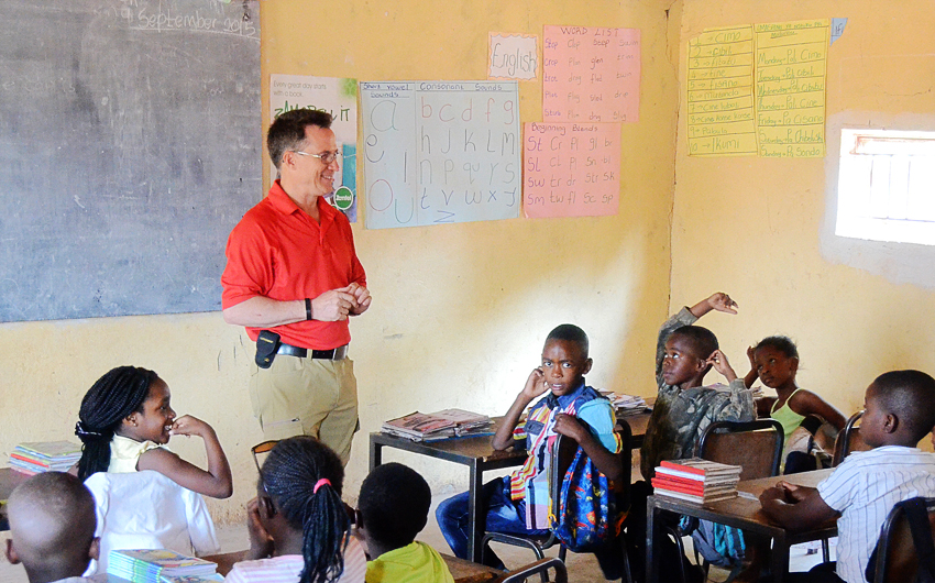 Steve Evers, Excellence Christian Academy, Zambia