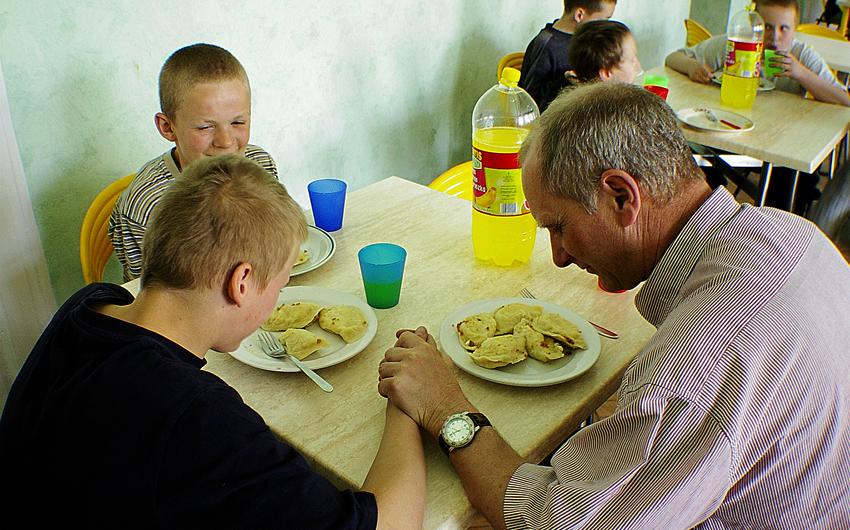 Jim La Rose, Poland, foster children