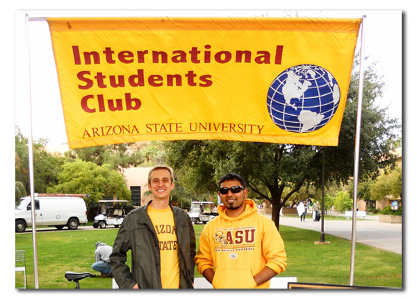Intern With International Students Club At ASU