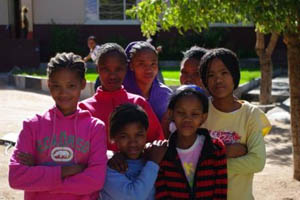 girls from pofadder orphanage
