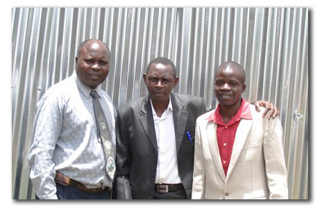 Kawede, Christopher Kasule and Moses.