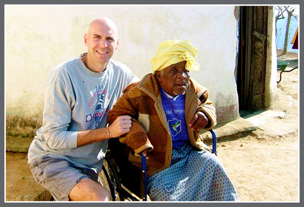kelly with woman in wheelchair