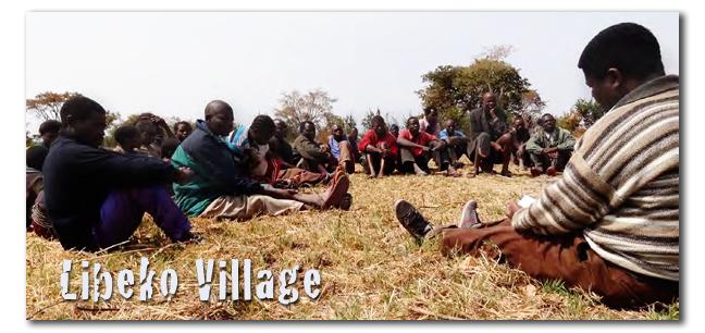 Libeko Village Preaching