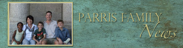 Parris Family News