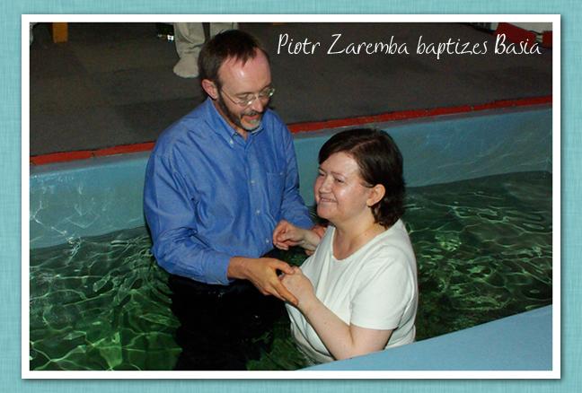 Piotr Baptizing Basia