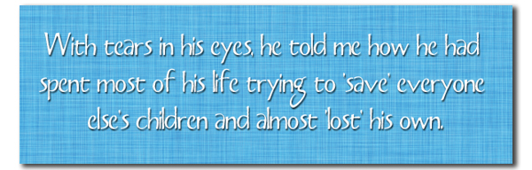 With Tears in His Eyes Pull Quote