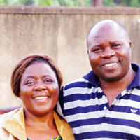 Muhindo and Lillian Kawede