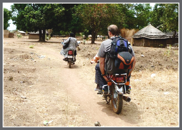Motor Bike Riding in Africa!