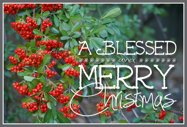 14/12 – A Very Blessed and Merry Christmas