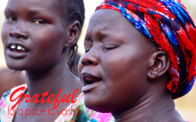 South Sudanese, Church Plant, Worship
