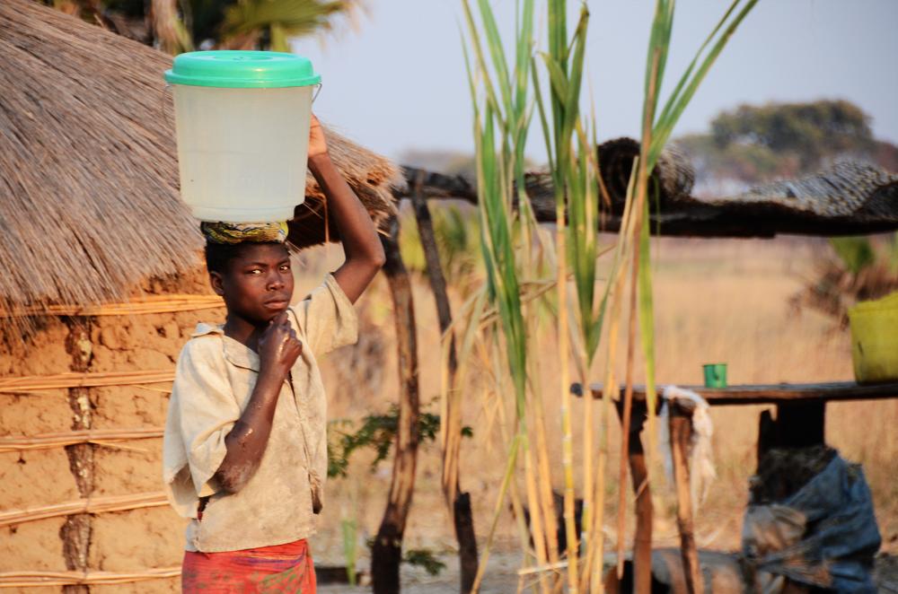 Drinking water, Lukulu, Zambia