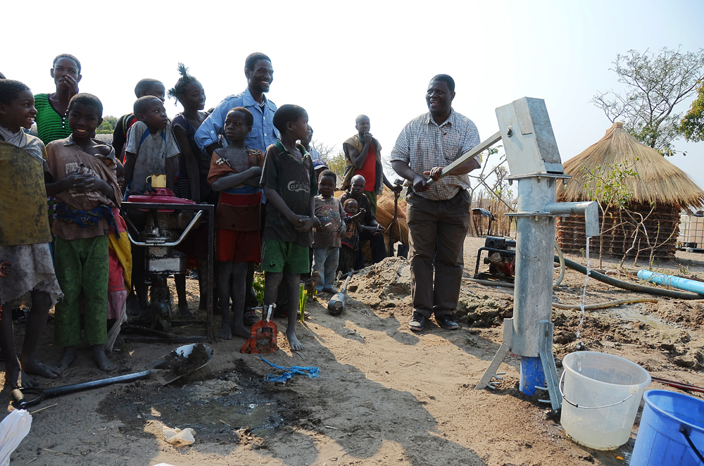 John Jere, Clean Water, Lukulu, Zambia