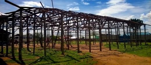 South Sudan, church building, Jahim