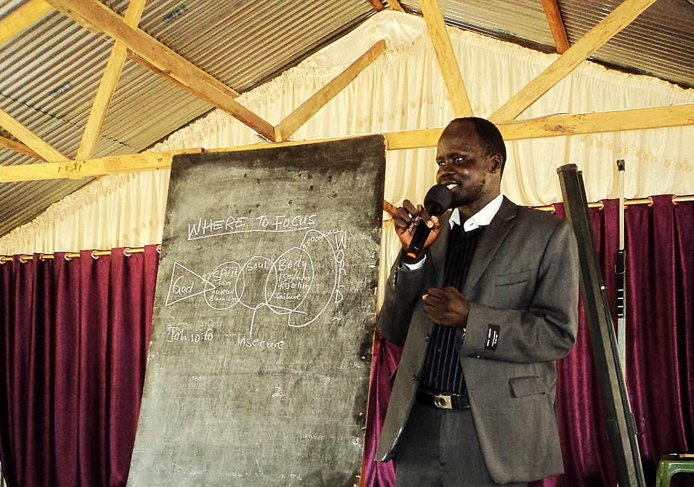 Jahim Buli, South Sudan, Pastor Training