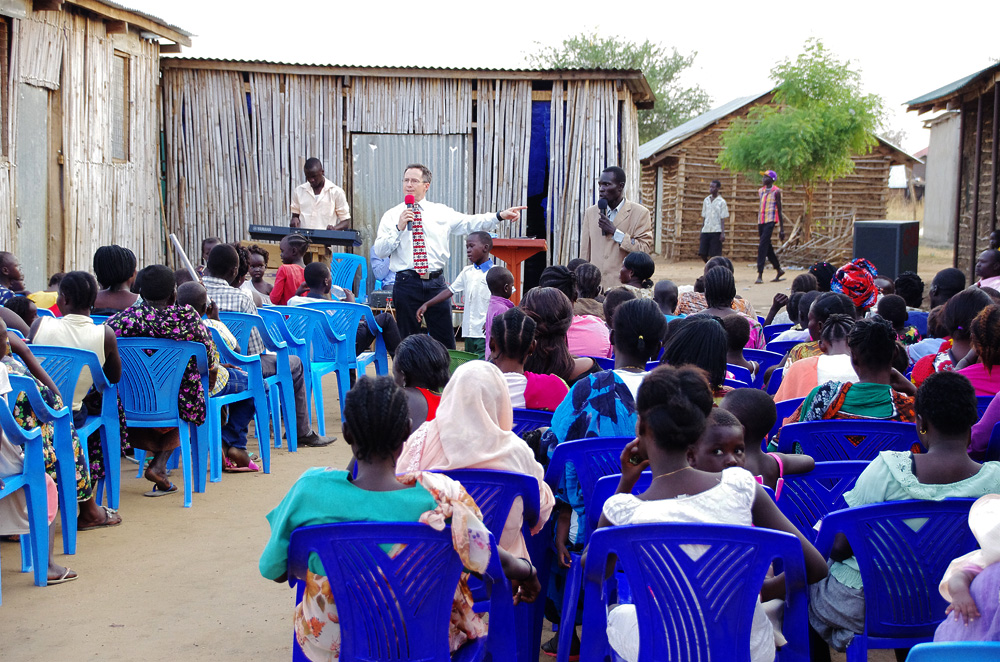 Steve Evers, South Sudan, Church Plant, Jahim Buli