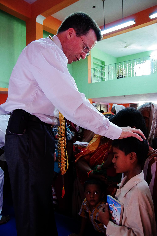 Steve Evers, India, Prayer, Youth