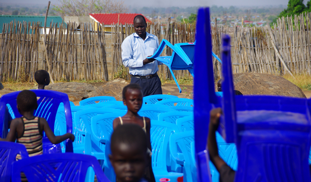 Jahim Buli, Church plant, South Sudan
