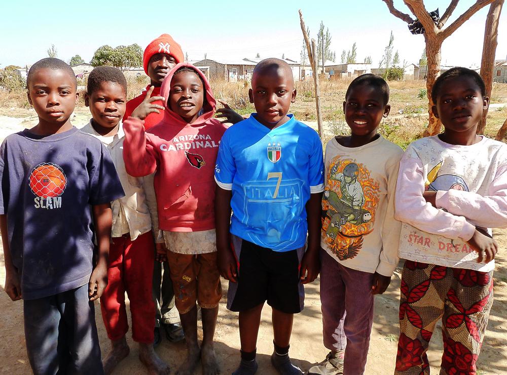 Zambia, kids