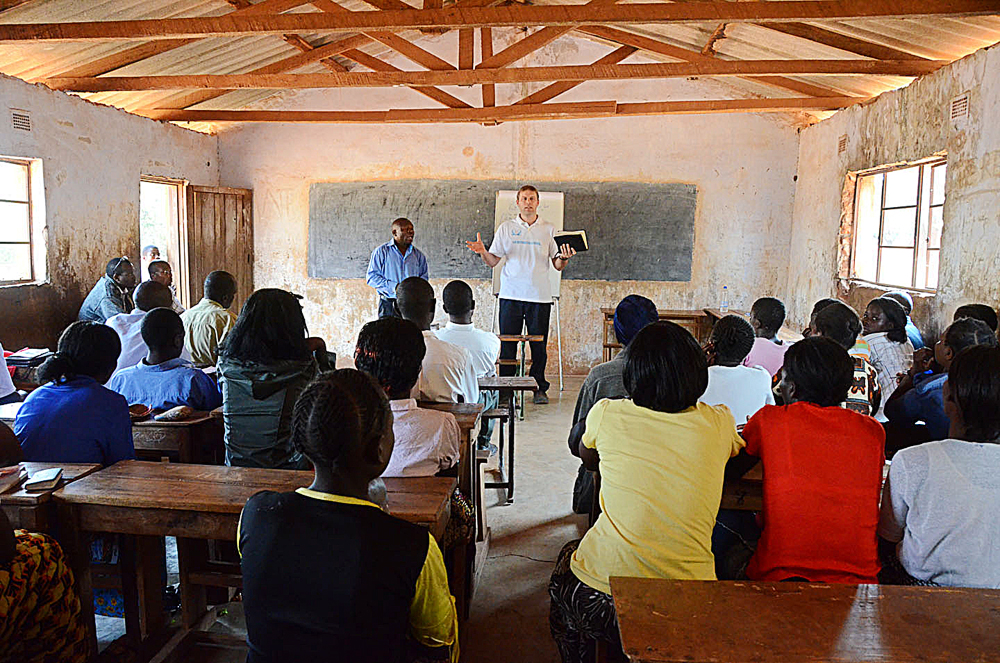 Education, Christian Education, Africa, Zambia, Container Project, Timothy Keller