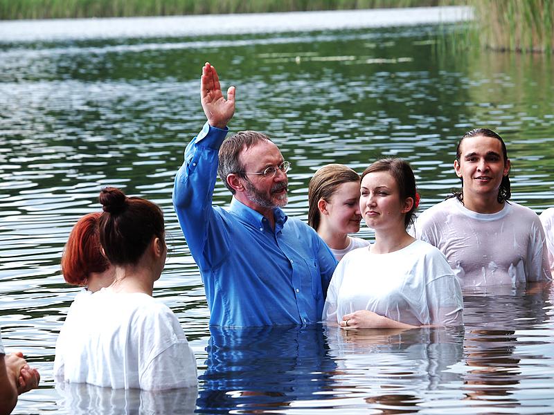 Piotr Zaremba, Baptism, Poland