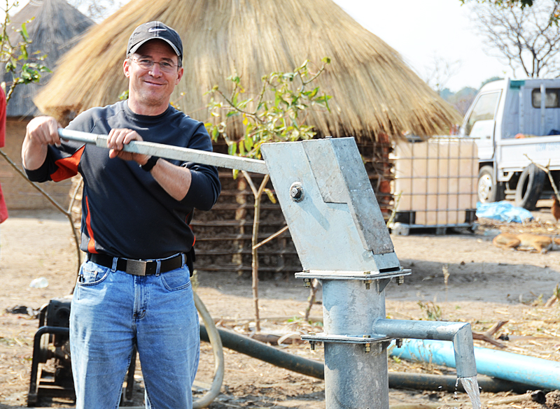 Steve Evers, Zambia, Lukulu, Water Wells, Clean Water
