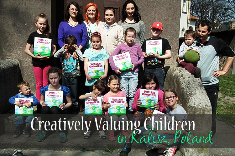 How ITMI Partners are Creatively Valuing Children in Kalisz, Poland