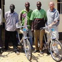 Bibles and Bikes Fund, Charl van Wyk