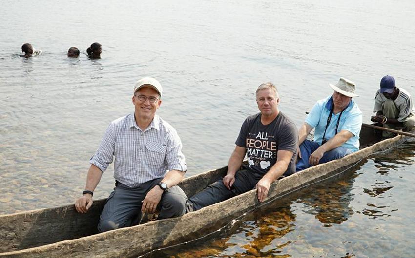 Steve Evers, Jon Dekkers, Steve Lee, Zambezi River, Zambia