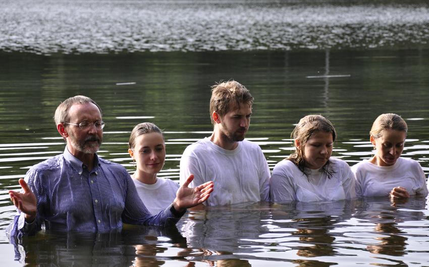 Piotr Zaremba, prayer, Poland, Baptism