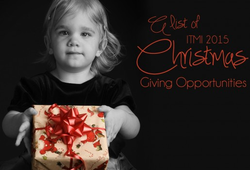 Christmas, 2015, Giving